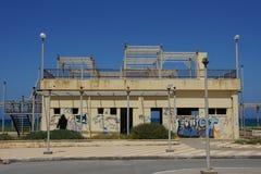 Verlassenes Gebäude Stockfotos