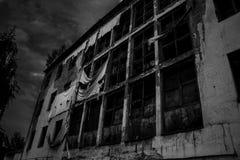 Verlassenes Gebäude lizenzfreies stockbild