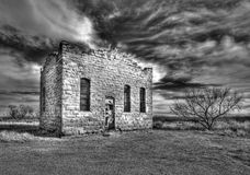 Verlassenes Gefängnis in Clairemont TX Stockbild