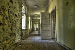 Verlassenes geistlichhspital Stockbild