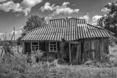 Verlassenes Haus stockbilder