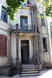 Verlassenes Haus des letzten Jahrhunderts Cetinje montenegro Stockbilder