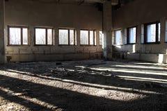 Verlassenes Haus, Raum Stockfoto