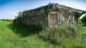 Verlassenes Haus in Tschornobyl Stockfoto