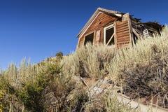 Verlassenes Haus, Virginia City, Nevada lizenzfreie stockfotos