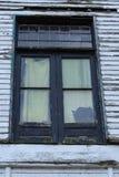 Verlassenes Hausfenster Lizenzfreie Stockfotografie