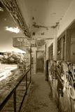 Verlassenes Hotel Lizenzfreies Stockbild