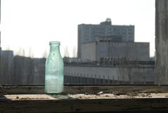 Verlassenes Hotel in Chernobyl Lizenzfreie Stockbilder