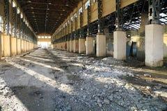 Verlassenes Industriegebäude lizenzfreie stockfotografie