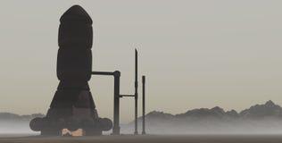Verlassenes Kraftwerk 2 Stockfoto