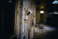 Verlassenes Krankenhaus missachtet lizenzfreie stockfotografie