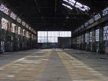 Verlassenes Lager 00915_b Stockbild