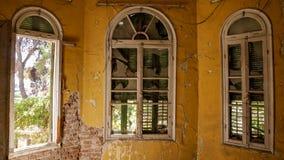 Verlassenes Landhaus - Griechenland Lizenzfreie Stockfotos