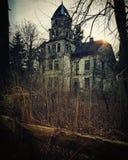 Verlassenes Landhaus stockbild