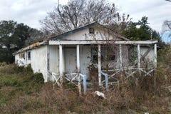 Verlassenes Louisiana-Haus lizenzfreie stockfotografie