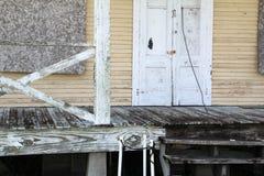 Verlassenes Louisiana-Haus stockbild
