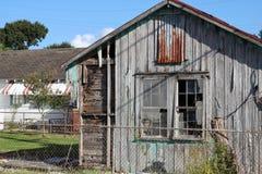 Verlassenes Louisiana-Haus stockfoto