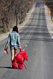 Verlassenes Mädchen Lizenzfreie Stockfotos