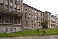 Verlassenes Marinecollege in Wustrow Lizenzfreies Stockfoto