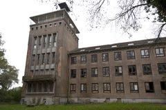 Verlassenes Marinecollege in Wustrow Lizenzfreies Stockbild