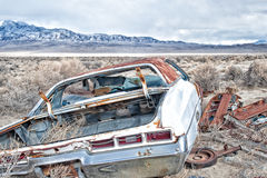 Verlassenes Motor- Klimaporträt Stockfotos