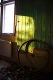 Verlassenes Rad Stockfoto