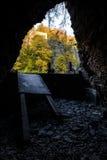 Verlassenes Rennen Ithaca Gun Company - Tunnel Lizenzfreie Stockbilder