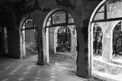 Verlassenes Sanatorium Stockfotos