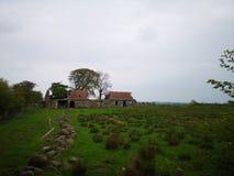 Verlassenes schottisches Gebäude lizenzfreies stockfoto