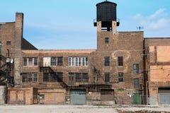 Verlassenes Stadt-Gebäude Lizenzfreies Stockfoto