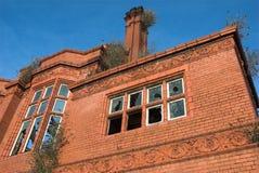 Verlassenes viktorianisches Gebäude Stockfotos