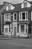 Verlassenes viktorianisches Haus Stockfoto