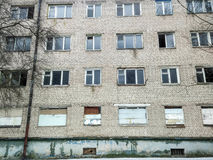 Verlassenes Wohnung buildimg lizenzfreies stockfoto