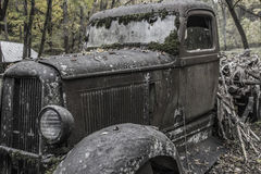 Verlaten Antieke Vrachtwagen Royalty-vrije Stock Fotografie