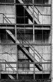 Verlaten architectuur, Whittier, Alaska Stock Foto