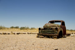 Verlaten auto royalty-vrije stock fotografie