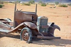 Verlaten auto Royalty-vrije Stock Afbeeldingen