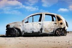 Verlaten auto Stock Foto