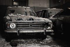 Verlaten auto's Royalty-vrije Stock Foto