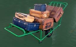 Verlaten bagage Stock Foto's