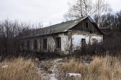 Verlaten barakken Stock Fotografie