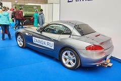 Verlaten BMW Z4 stock afbeelding