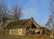 Verlaten boerderij Stock Afbeeldingen