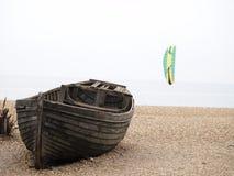 Verlaten boot royalty-vrije stock fotografie