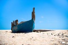Verlaten boot Royalty-vrije Stock Afbeelding