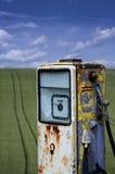 Verlaten brandstofpomp Royalty-vrije Stock Afbeeldingen