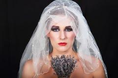 Verlaten bruid Stock Afbeelding