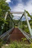 Verlaten Bundelbrug in Pennsylvania stock afbeeldingen