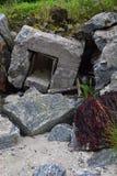 Verlaten bunker Royalty-vrije Stock Afbeelding