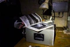 Verlaten bunkerinventaris royalty-vrije stock afbeeldingen
